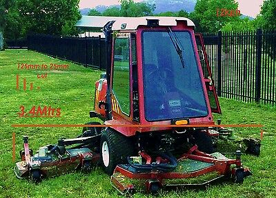 mowing large areas, roads, schools, farms, fire breaks, golf clubs, parks,