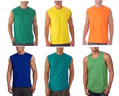 Fruit of the Loom Men's Muscle Shirt and Tank Top Big & Tall Tee