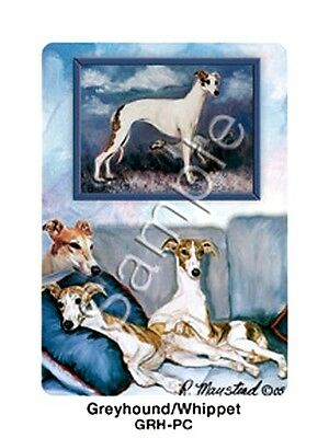 GREYHOUNDS & WHIPPETS Deck of Playing Cards by Maystead