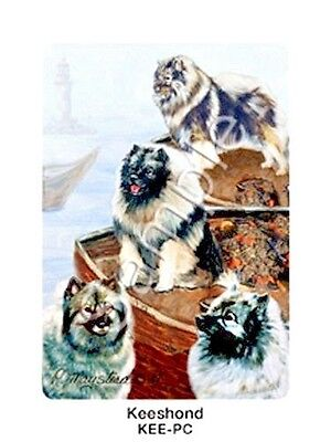 KEESHOND - Deck of Playing Cards by Maystead