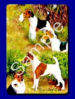 WIRE FOX TERRIER  Deck of Playing Cards by Maystead