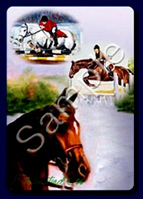 HORSES [English Riding]  Deck of Playing Cards by Maystead