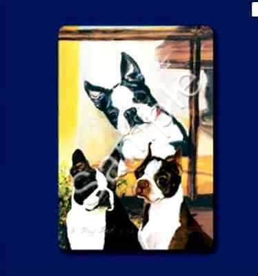 BOSTON TERRIER  Deck of Playing Cards by Maystead