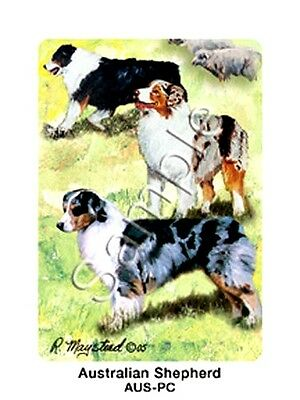 AUSTRALIAN SHEPHERD  Deck of Playing Cards by R. Maystead
