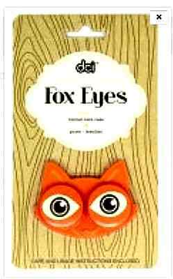 FOX EYES Contact Lens Case - for cleaning &/or storage of hard or soft contacts