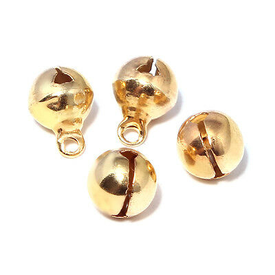New 10pcs Jingle Bell 12mm Round Bell For Christmas New Year Holiday Decoration