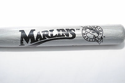 Florida Marlins Commemorative Mini Baseball Bat, Silver