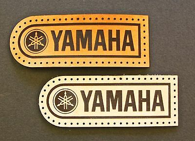 Leather sew on Yamaha Motorcycle Patch