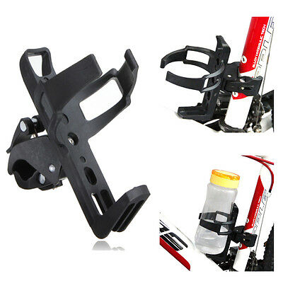 """2"""" Motorcycle Bicycle Beverage Water Bottle Drink Cup Cage Holder Quick Release"""