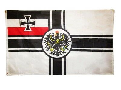 3x5 German Imperial WWI 1892 1903 Germany Rough Tex Knitted flag 3'x5' Grommets