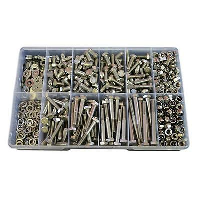 Qty 690 Hex Bolt Kit M8 Stainless Steel 304 Nut Washer Set Screw #85