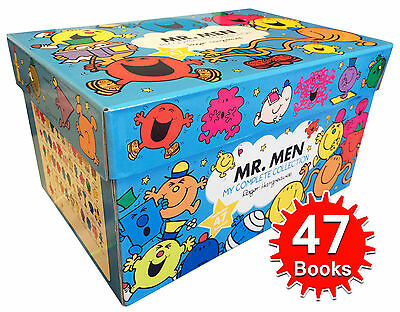 Mr Men My Complete Collection Books Box Gift Set Brand New Boxed Pack New Gift