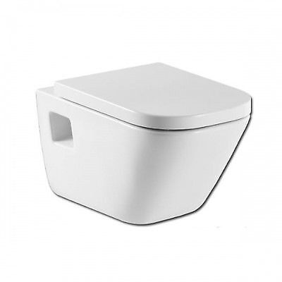 346477000 Roca The Gap Wall-Mounted WC Pan toilet White