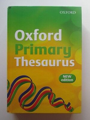 Oxford Primary Thesaurus 2007 (L06165)