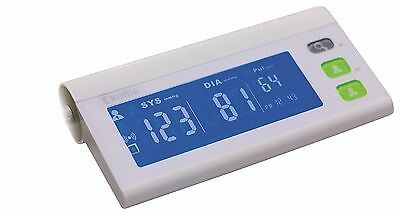 Konig LCD Digital Auto Upper Arm Blood Pressure Monitor Bluetooth White