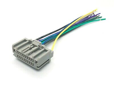 radio stereo reverse oem stock standard male wire wiring harness radio install oem reverse male wire harness cable plug