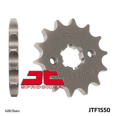JT JTF1550-14 14T/Tooth Front G/B Motorcycle Sprocket Yamaha YZF-R125  08-15