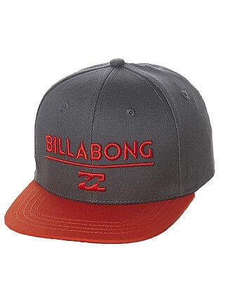 New Billabong Tots Boys System Snapback Cap Children Toddlers Headwear Black