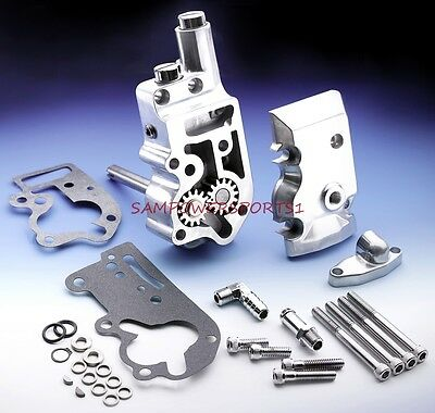 Revtech Polished Oil Pump Fits For Harley Shovelhead Evolution  73-91 Rev Tech