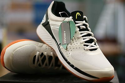 Head Indoor Shoes Sprint Pro Racquetball Court Shoes White/black Mens Us 11.5