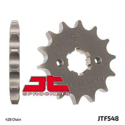 JT JTF548-14 14T/Tooth Front Motorcycle Sprocket Yamaha YBR125 3D9,51D 07-15