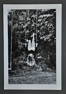Helmut Newton Original Photo Litho 1976 Croix-Valmer Special Collection Nude B&W