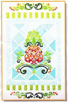 Welcome - gorgeous pieced & applique wall quilt PATTERN - Cherry Blossoms