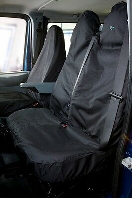 Town & Country TRDBLK Transit / Iveco Back Passanger Seat Cover Black New