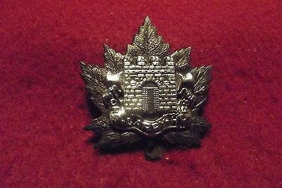 Canadian Queens Crown Cap Badge To The Fort Garry Horse
