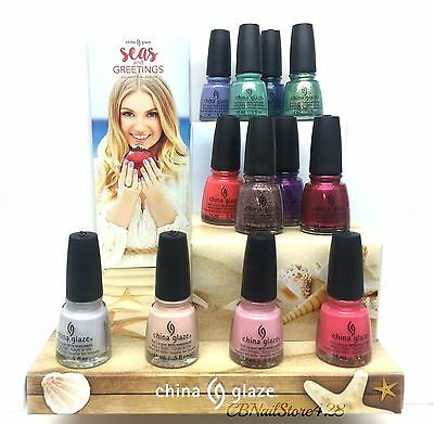 China Glaze Nail Lacquer- Seas and Greetings Holiday 2016 - Choose Any Color