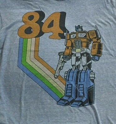 "OPTIMUS PRIME ""84"" Transformers t-shirt"