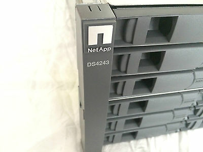 NetApp DS4243 NAJ-0801 HARD Disk ARRAY 24 x 300GB 15K SAS X410A-R5 STORAGE