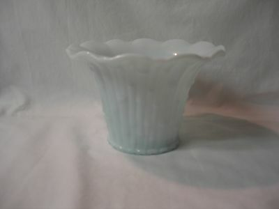 Unique Vintage Hard to Find Blue Milk Glass Made in Italy