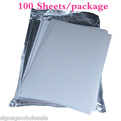 A4 3D Sublimation Transfer Film --100 Sheets/package