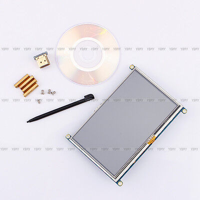 5 inch HDMI TFT LCD Display Resistive Touch Controller Screen For Raspberry Pi