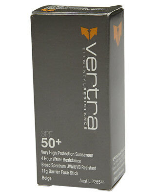 New Vertra The Shelter Sun Resistant Foundation Face Stick Spf 50+ Brown