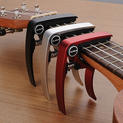 Aluminum Alloy Trigger Capo Clamp Metal for Acoustic Electric Guitar Ukulele
