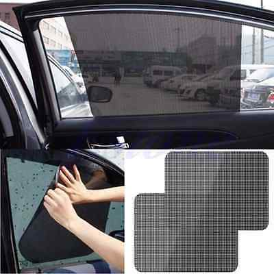 2PZ Parasole Per Auto Finestra laterale Protection Static Cling Sun Shade