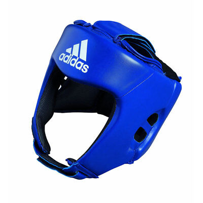 adidas AIBA Approved Boxing Head Gear – Blue