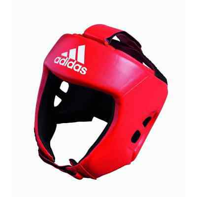 adidas AIBA Approved Boxing Head Gear – Red