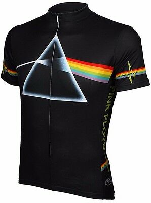 Short Sleeve Pink Floyd Breathable Cycling Jersey Bike Clothing MTB Jersey Tops