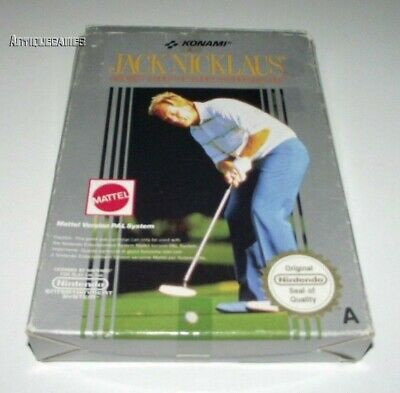 Jack Nicklaus Golf Nintendo NES Boxed PAL Preloved *No Manual*