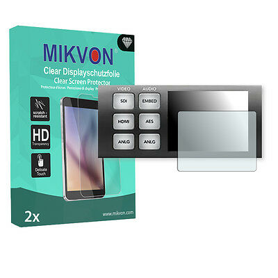 2x Mikvon Clear Screen Protector for Blackmagic UltraStudio 4K Retail Package