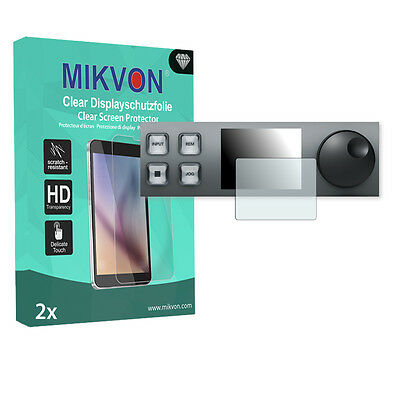 2x Mikvon Clear Screen Protector for Blackmagic HyperDeck Studio Retail Package
