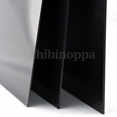 Black Smooth Sheet ABS Acrylonitrile Butadiene Styrene Sheet 1/1.5/2mm Thicknes