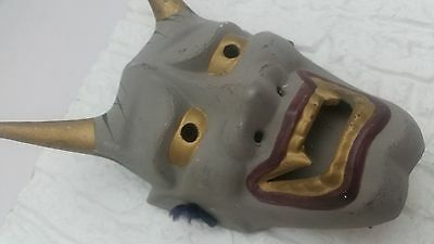 Japanese ONI Mask Demon Devil Mask SMALL for wall decoration