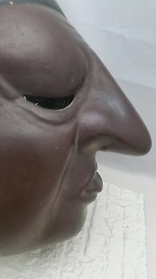 Japanese Bizen Pottery Clay Mask from Japan
