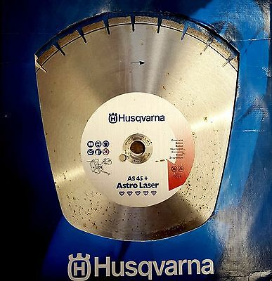 "Husqvarna Diamond Blade for Concrete, 18""  450mm AS45+ Astro Laser"