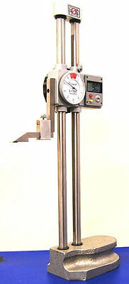 "Dasqua Dial / Digital Height Gauge 0-12"" (Ref: 32017101) From Chronos"