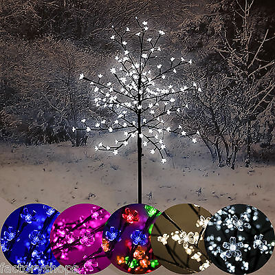 5Ft 1.5M Led Cherry Blossom Tree 150 Lights Light Up Outdoor / Indoor Christmas